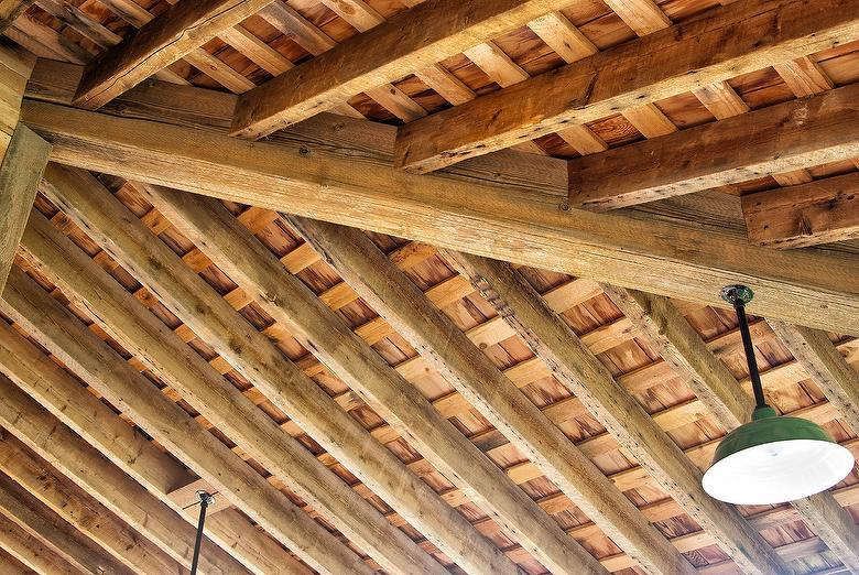 Weathered Timber and Rafters