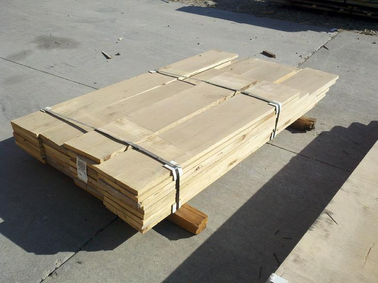 Example Units: Trailblazer Mixed Hardwood Band-Sawn Kiln-Dried Lumber