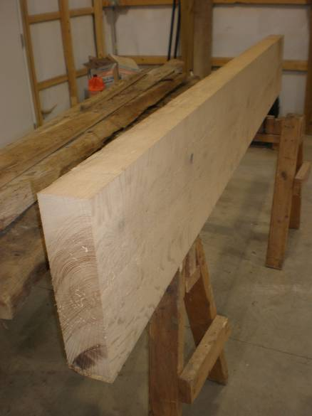 3x13 x 8' Oak Stair Tread / Note peg hole