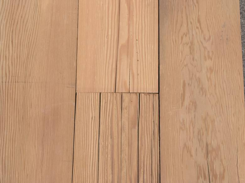 Photo 6243 Douglas Fir Wire Brushed Siding From