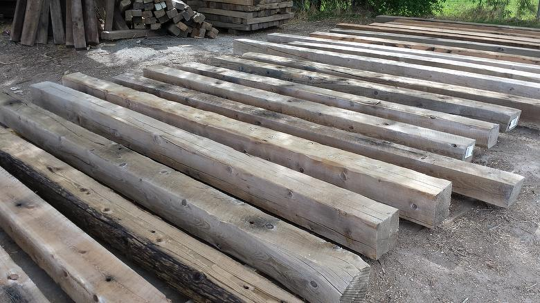 WeatheredBlend (TWII + HarborFir + Others) Pressure-Washed Timbers / NatureAged Barnwood - Customer Order