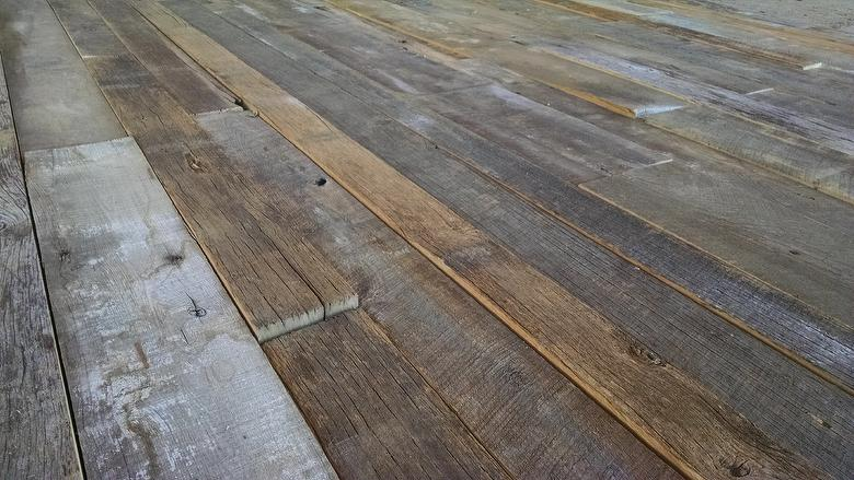 Weathered Mixed Hardwoods