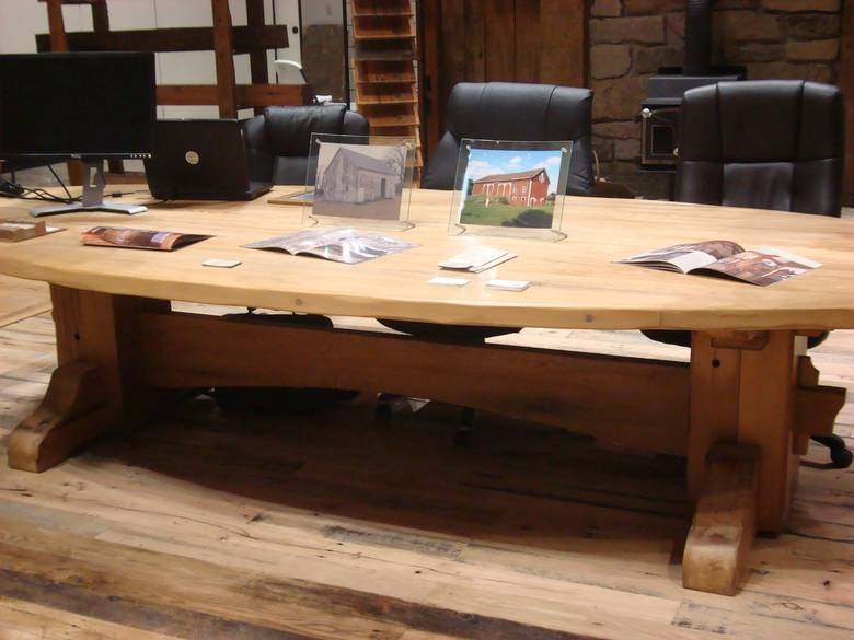 Photo 9236 Reclaimed Douglas Fir Picklewood Table