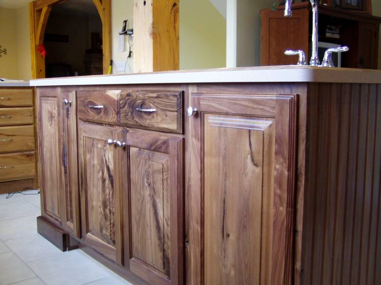 Photo 9268 Black Walnut Cabinets