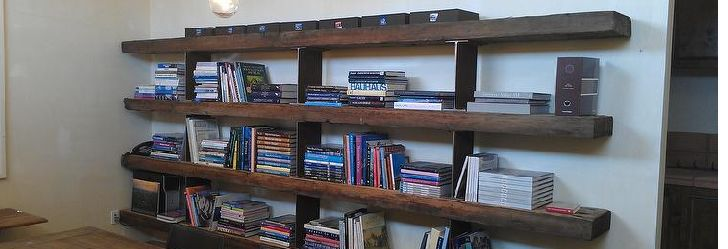 Check Out Some Cool Reclaimed Wood Shelving Post 20