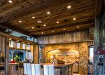 Mushroomwood Ceiling, Antique Barnwood Paneling, Hand-Hewn Weathered Middles