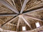 TWII Circle-Sawn Reclaimed Timbers - Scottsdale, Arizona Home - under construction