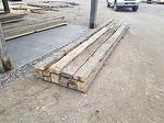 Hand-Hewn Trim Cut from Larger Hewn Timbers (WY Project)