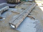 bc# 171609 - 6x10 x 12' Hand-Hewn Sleepers (2-Sides) - 60.00 bf