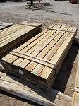 "bc# 215620 - 1"" x 6"" Hardwood Weathered Lumber - 535.50 bf - #1, not edged, Could be mixed with brown barnwood"