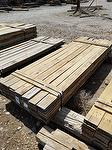 "bc# 215621 - 1"" x 6"" Hardwood Weathered Lumber - 420.00 bf - #1, not edged, Could be mixed with brown barnwood"