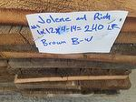 Material for Sale: 1 x 12 x 16' (10) and random (240 lf) Antique Brown Barnwood (CO)