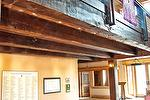 Reclaimed Weathered Douglas Fir Beams, TWII Smooth Flooring - Clearmont, Wyoming