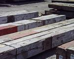 EXAMPLE TIMBERS: 9x12, 10x12 and 10x14 x 18-20' DF Weathered Timbers (Defense Depot)