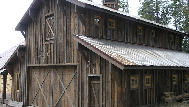 Antique barnwood brown rough siding for Barnwood siding prices