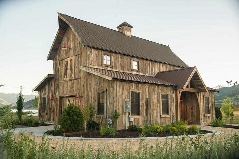 Antique Brown Barnwood Siding