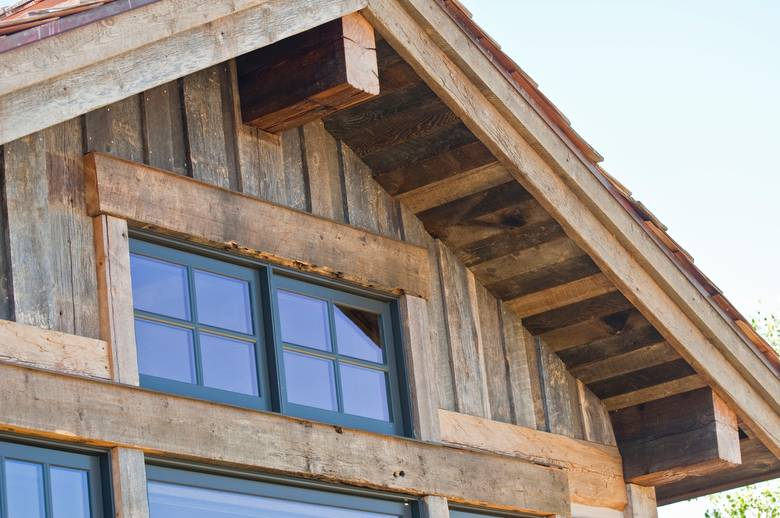 Barnwood Siding, Soffit, and Fascia