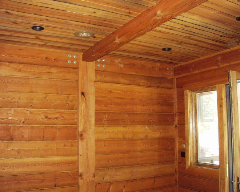 Photo 1657 Southern Yellow Pine Paneling