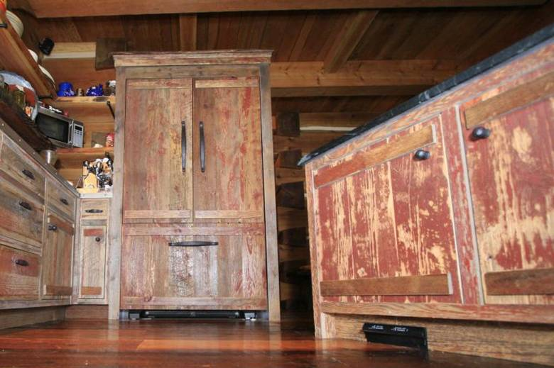 how to build a kitchen cabinet photo 16799 painted barnwood cabinets in b c kitchen 16799