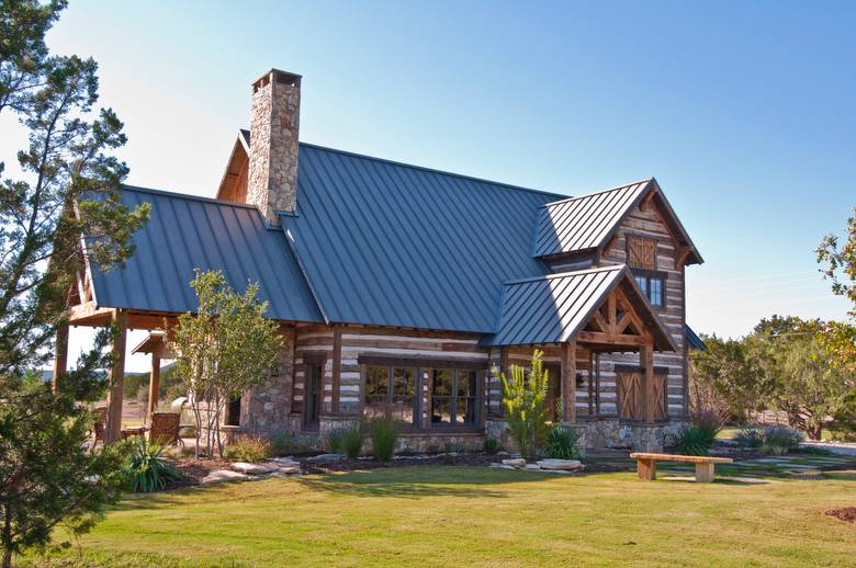 texas log cabins heritage the tx bed in porch breakfast granbury