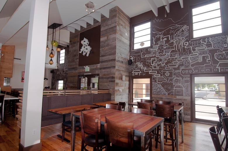 Photo 33619 1 Quot Gray Barnwood Accent Wall Restaurant