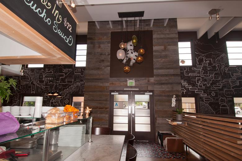Photo 33620 1 Quot Gray Barnwood Accent Wall Restaurant