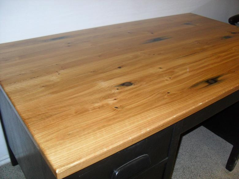 Ruby Hardwood desk top
