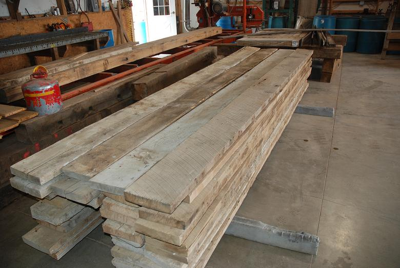 Photo 41792 2x10 Joists Salvaged From Peru Indiana Barn