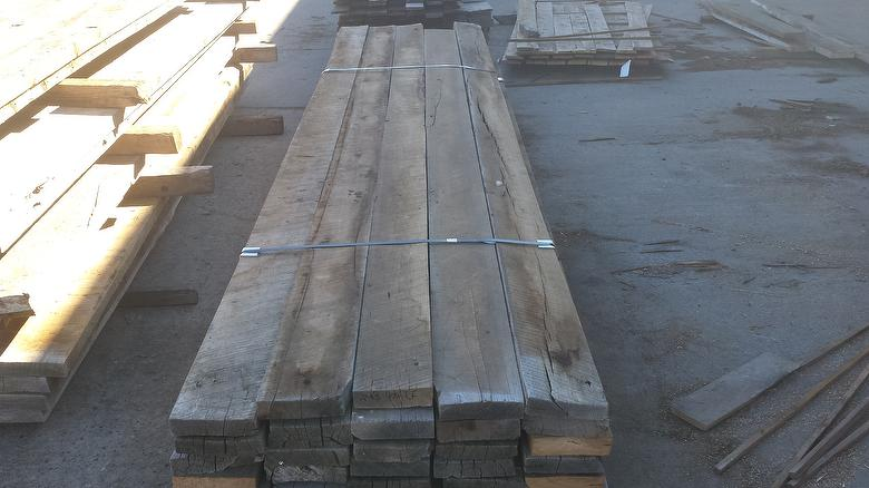 2 x 8 x 12'+ Weathered Barnwood (Mostly Hardwoods)