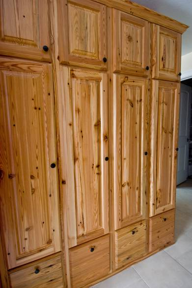 Photo #9295   Southern Yellow Pine Cabinets / These Cabinets Are Lockers In  A Mud Room
