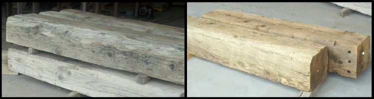 What are the Advantages of Pressure Washing Reclaimed Timbers and