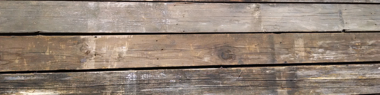Weathered Barnwood Decking With Original Tongue And Groove