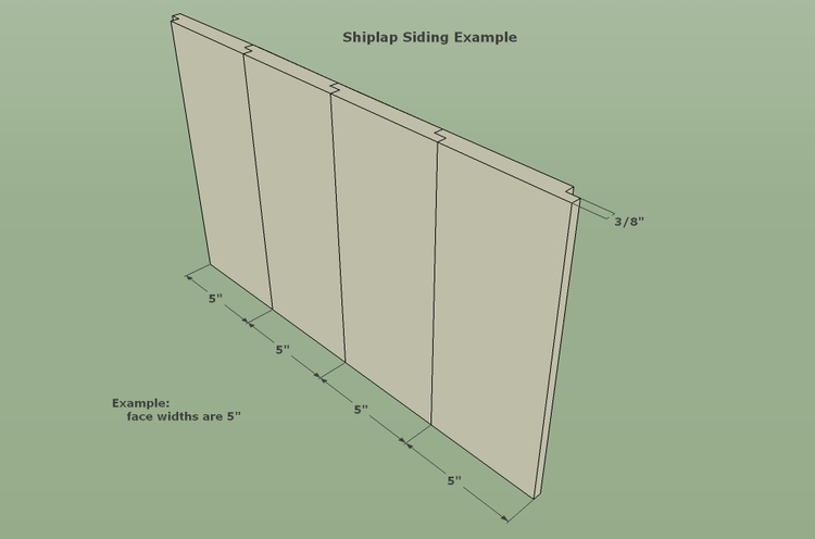 Shiplap siding calculator for Lumber calculator for walls