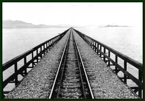 Lucin Cutoff Railroad Trestle The Trestlewood Story